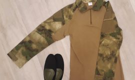Combat-Shirt in AT-FG Camo / Größe S