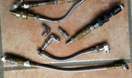 Stahlflex Schläuche Sammlung + Schnellkupplungen