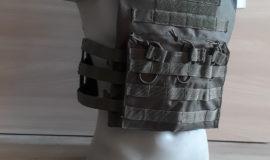 Weste / Plattenträger / Olivgrün + Dreibett-Magazintasche + 2x Dummy Einlagen füllbar