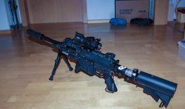 Milsig M17 Elite XDC + RIESEN ZUBEHÖRPAKET + Neuwert 2400€