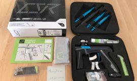 Verkaufe PE Geo CSR schwarz/blau NEU