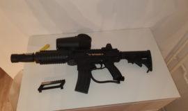 Tippmann X7 mit m16 umbau kit