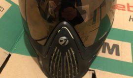 Dye i4 Maske Schwarz/Gold