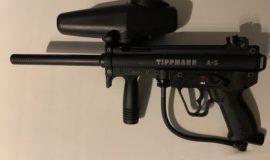 Tippmann A5, Dye Maske, 200Bar Flasche