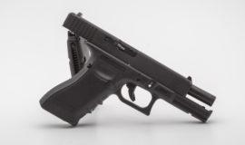 VFC Glock 17 Gen. 4 mit Metallschlitten GBB schwarz + RAP4 6mm Paint-BB