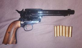 SAA Revolver cal. 0.43 schwarz / gebläut CUSTOM
