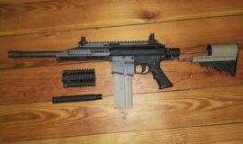 Milsig M17 CQC inkl. XDC Anbauteilen