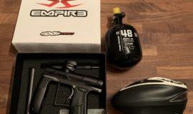 Empire Axe Pro Neu + HP Flasche Neu + Rotor