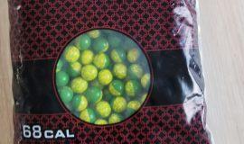EBG Paintballs cal. 68